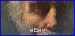 19th Peinture de maitre Pierre Dupuis, Epoque 19ème, HUILE SUR TOILE