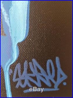 80X80 TOILE DE ROULLAND T SKRED tag contemporain moderne peinture art no jonone