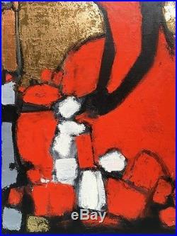 ANDREY SMIRNOFF Huile sur toile de 70 cm x 60 cm