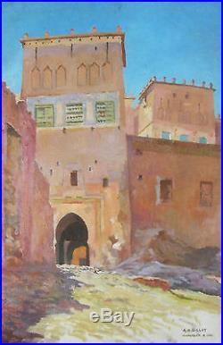 peinture sur toile maroc