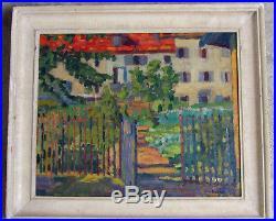 A. L Roche 1891-1961. Lumineuse Peinture Nabis. Un Élève Dédouard Vuillard