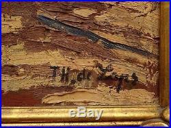 A VOIR, SUPERB HUILE FAUVE, FAUVISTE de THEO de LAPS (1895-) 100 RESUL ARTPRICE