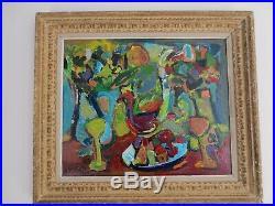 Adrien SEGUIN Huile sur toile 65 x 54