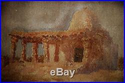 Alexandre Roubtzoff-ecole Russe-orientaliste-tunisie-gabes-mausolee-1918-orient
