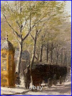 Anatole Hillairet (18801928) Paris, Invalides rue de Sèvres, 1900 tableau