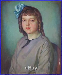 Ancien Tableau Abel George Warshawsky (1883-1962) Peinture Huile Oil Painting