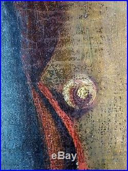 Ancien Tableau Napoléon Ier Peinture Huile Antique Oil Painting