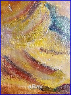 Ancien Tableau Willem Van Den Bruel (1871-1942) Peinture Huile Oil Painting