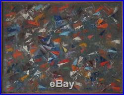 Aramov (1901/1991) Hst Composition Abstraite