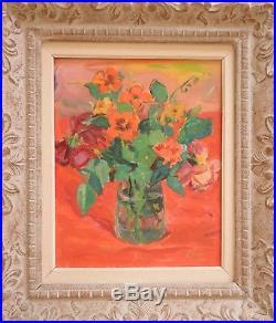 Beau tableau de Gustave LINO (1893-1961). Bouquet fauve. Albert MARQUET. Alger