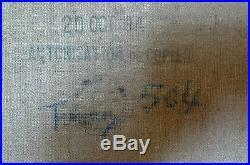 Belle copie officielle de musé d'un tableau célèbre (tampon au dos)