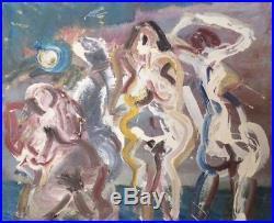 Bernard DAMIANO (1926-2000). Huile sur toile, datée 1984. V248