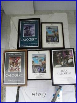 CALOGERO Jean (1922-2001 né en Sicile) CARNAVAL VÉNITIEN HUILE SUR TOILE -1976