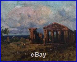 Carlo BRANCACCIO (1861-1920). Huile sur toile. V 425