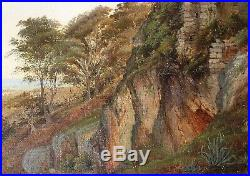 César Mascarelli, Nice, Cimiez, tableau, peinture, côte d'Azur, paysage