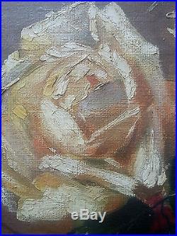 Charles Cluytmans (XIXe-XXe) Ancien Tableau Peinture Huile Antique Oil Painting