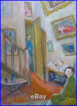 Charlotte DORAT-IBELS (1904-) HsT Signée Fauvisme Fauvism Années 30' ou 40