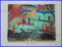 Cope2 / Dan Plasma, Oeuvre Originale sur Toile (2), Street Art Graffiti