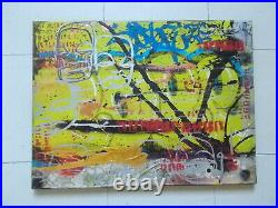 Cope2 / Dan Plasma, Oeuvre Originale sur Toile (3), Street Art Graffiti
