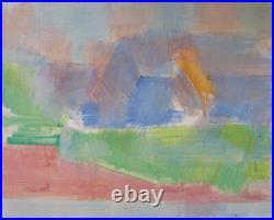 Daniel RAVEL (1915-2002) HsT 1993 Abstraction lyrique Jeune peinture Abstract