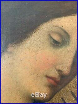 Ecole Italienne Du XVIIème Siecle Suiveur De Carlo Dolci La peinture montre l