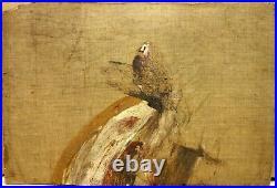 Edouard Vuillard proche de. Belle HST vers 1900 Femme Lisant Nettoyé