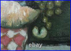 Eugène BABOULENE- Huile/toile Fruits d'automne v1246