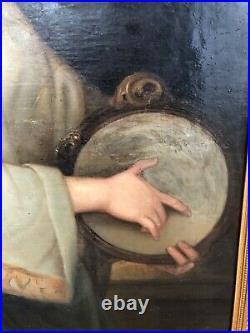 Femme grecque Magnifique peinture du XIXème siècle