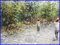 Fritz LOUIZOR (1949-1984) Haïti La récolte des Mangues Huile sur Toile signée