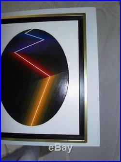 GARCIA ROSSI Horacio (1929- Argentine 2012) Technique mixte et acrylique -1988