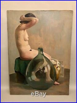 Grand portrait de femme nue