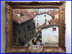 Gustave VIDAL (1895-1966)-marché-Provence-Avignon-Arles-Marseille-Grivolas