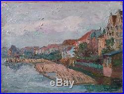 Henry Valensi Hst Middelbourg Painting Middelburg Nederland 1910
