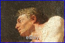 Homme nu, tableau, peinture, corps homme, Académie, érotique, XVIII, France