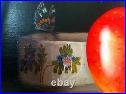 Huile Sur Toile''The Big Apple'' French oil on canevas by Jean Claude Chauray
