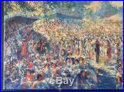 Huile sur Toile Peinture par Georges Maury
