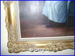 Huile sur toile du XX eme Signée L. EGGERMOND (peintre Belge) 66,5 X 76,5 cm