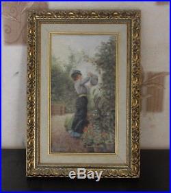 Jacques-Émile Blanche Impressionniste Peinture Huile sur Toile Belle Qualité