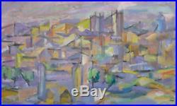 Jean MARZELLE (1916-2005) HsT 1954 Nle Ecole de Paris Jeune Peinture Fauvisme