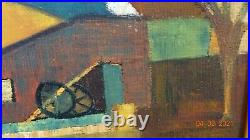 Kjell Lindberg Peintre Post Cubiste Suedois Huile Eleve Andre Lhote (2) 1965