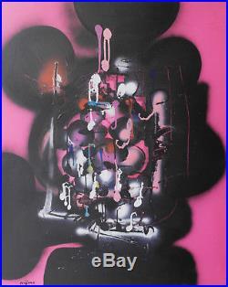 Ladislas Kijno. Magic taravao 1. Huile sur toile v666