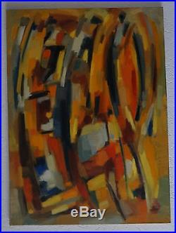 Laure Placide (1917/2014) Hst Abstraction Lyrique