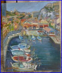 Le Vallon des Auffes-Marseille par Pierre TROFIMOFF 1925-1996