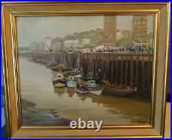 Le port de boulogne sur mer signé Emmanuel Le Petit