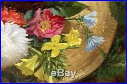Ludovic PIETTE, fleurs, bouquet, tableau, peinture, france, nature morte