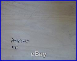 Marcel HORCLOIS (1914-2011) Huile sur toile, Nu / Fauvist / Fauvism / Fauviste