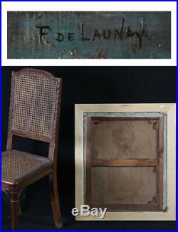 Nue signé De LAUNAY Fernand 1885/1941 Ecole Française