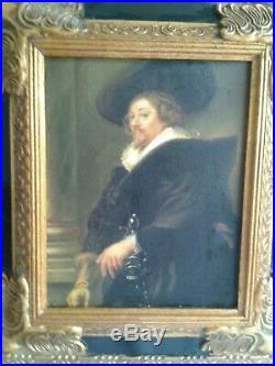 PORTRAIT DE GENTILHOMME ITALIEN XVIIème siècle à la manière de Giovanni Battista