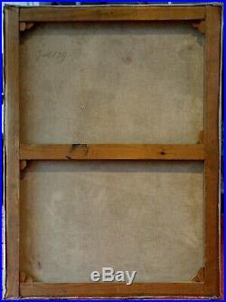 Paire de Nus 1939 Et 40 Signés, Châssis-Toiles d'Origine