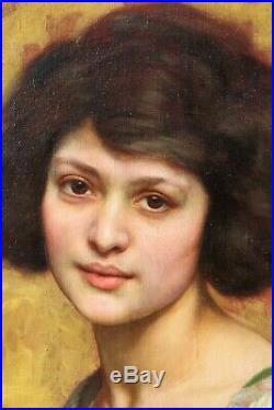Paul SIEFFERT, femme, tableau, portrait, Art Déco, érotisme, femme nue